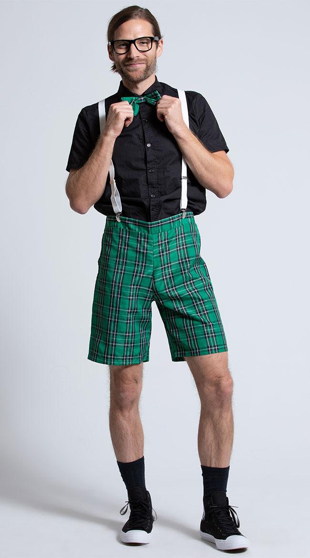 Men's Classroom Nerd Costume by Music Legs