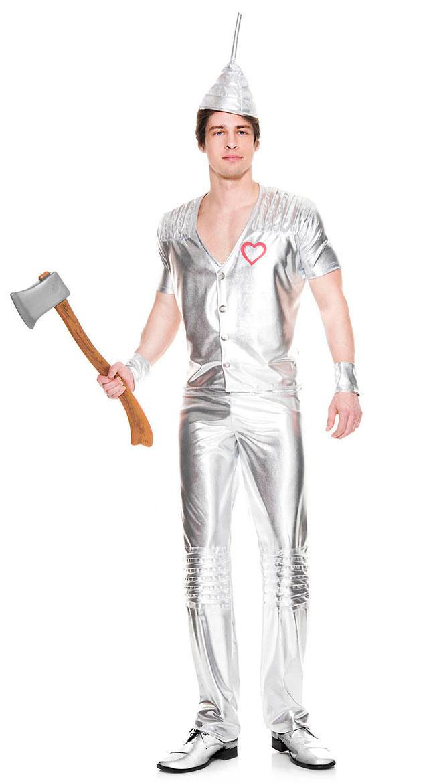 Men's Heartless Tin Costume by Music Legs