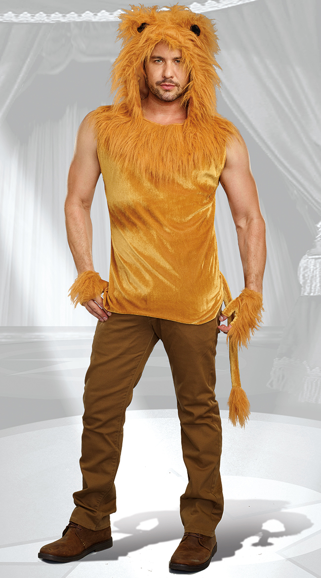 Men's King of the Jungle Costume by Dreamgirl