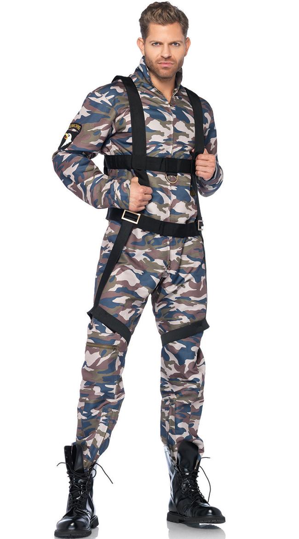 Men's Military Combat Stud Costume by Leg Avenue