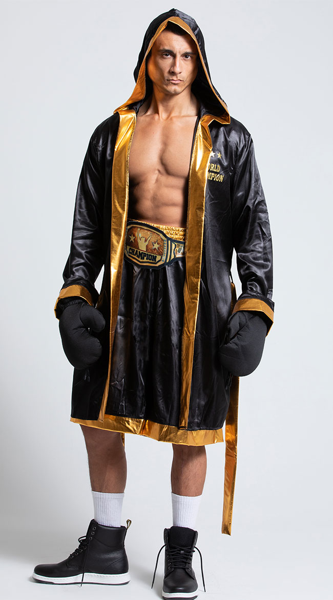 Men's World Champion Boxer Costume by Dreamgirl