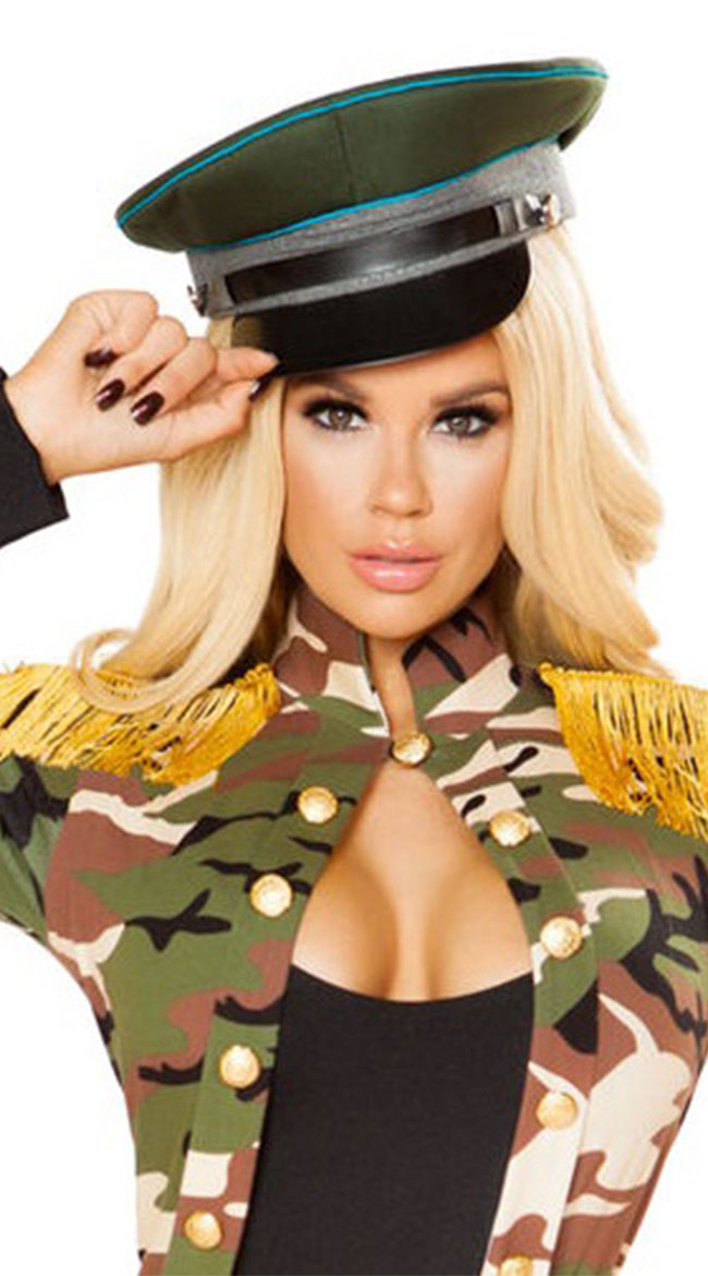Military Hat by Roma - sexy lingerie