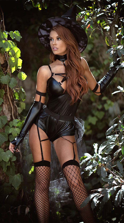 Miss Witchcraft Costume by Yandy Starline