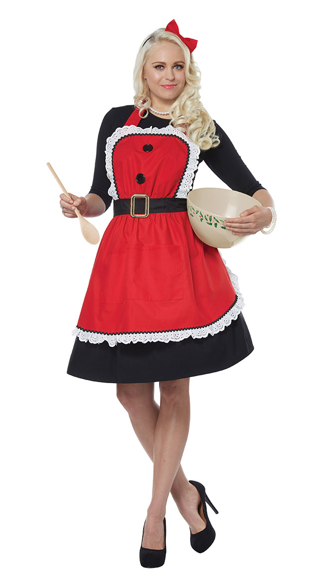 Mrs. Claus Apron by California Costumes