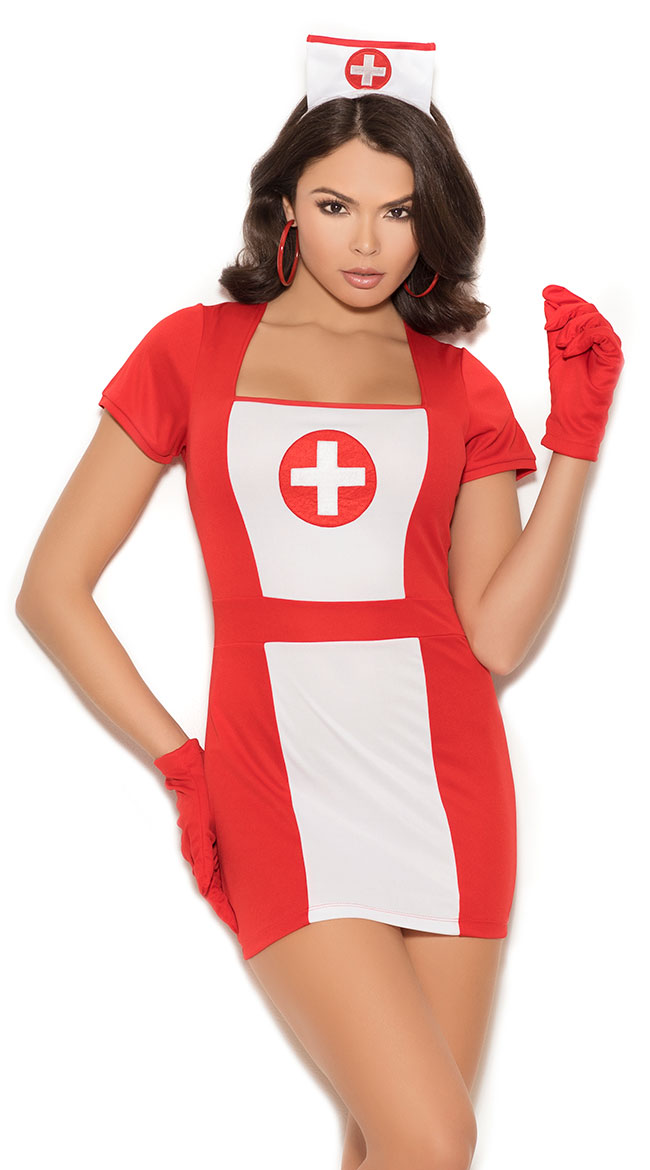 Naughty Attending Nurse Costume by Elegant Moments