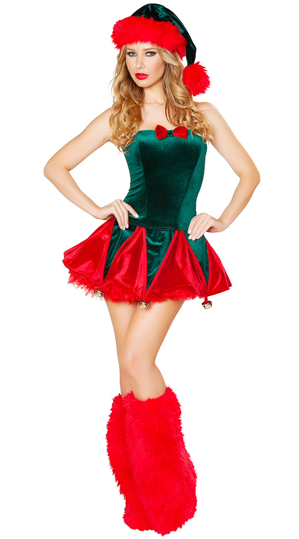 Naughty Elf Costume by Roma