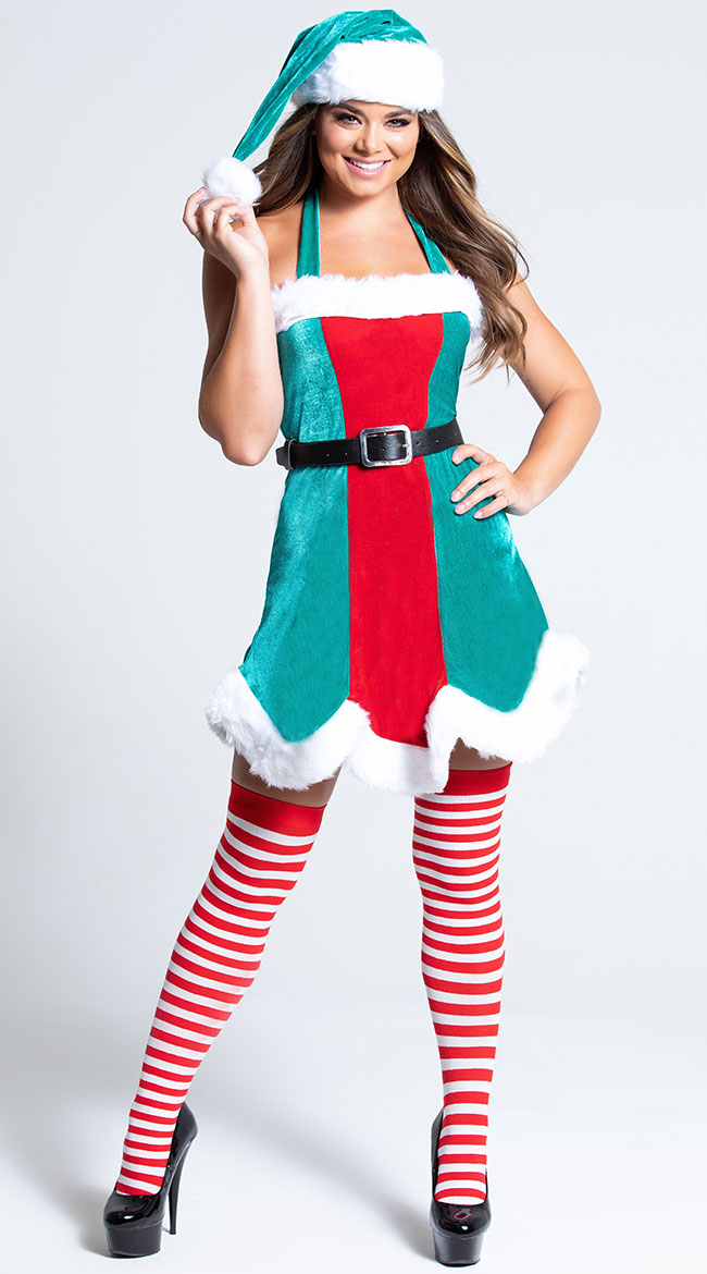 North Pole Elf Costume by Music Legs