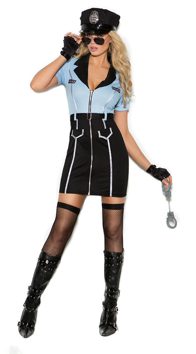 Officer Shirley Lawless Costume by Elegant Moments