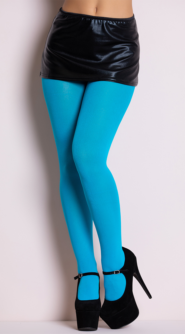 Opaque Tights by Music Legs
