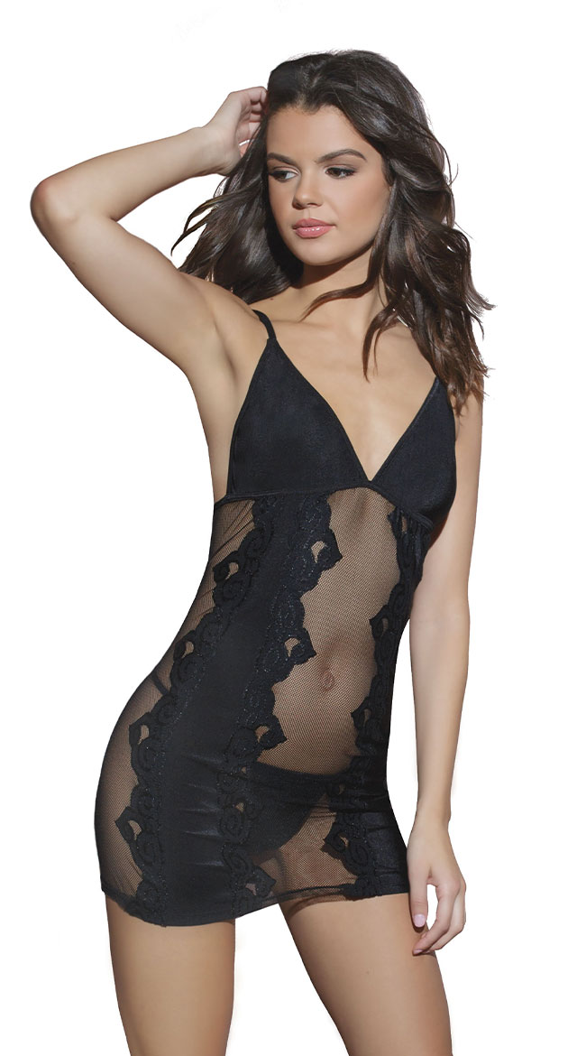 Parisian Nights Chemise by Coquette