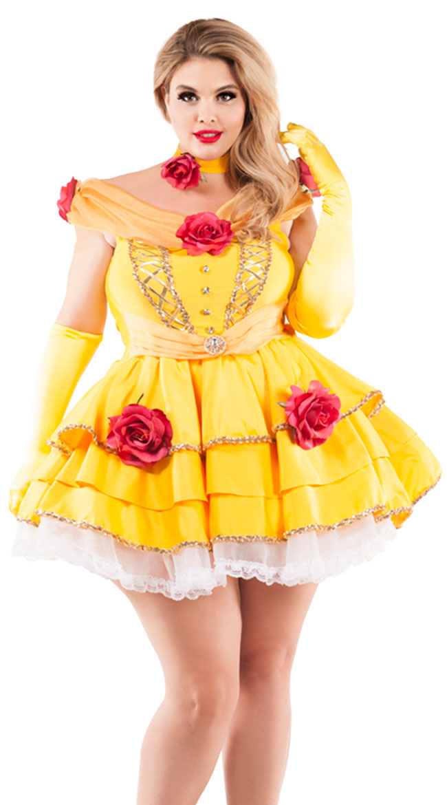 Plus Size Belle Of The Ball Costume by Party King