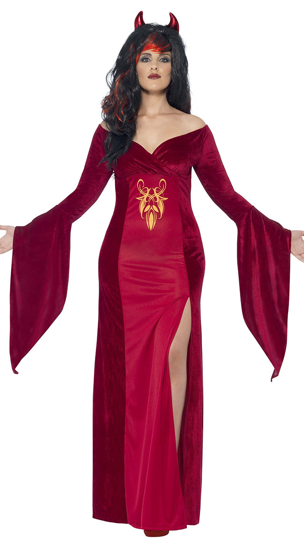 Plus Size Devilish Diva Costume by Fever
