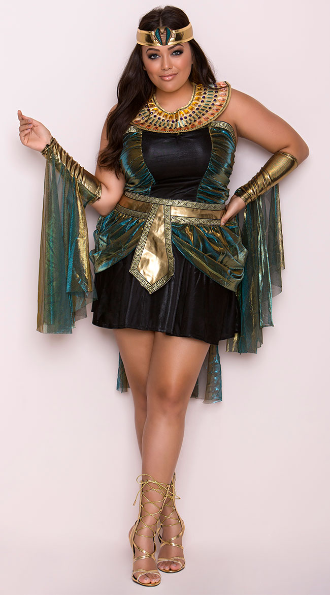 Plus Size Egyptian Goddess Costume by California Costumes