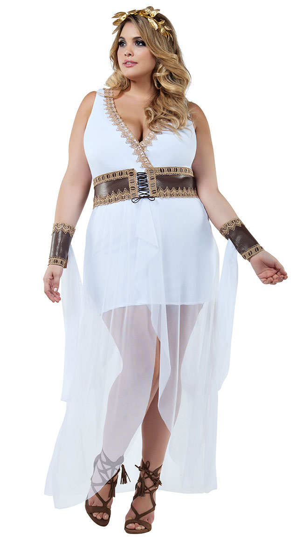 Plus Size Grecian Goddess Costume by Starline