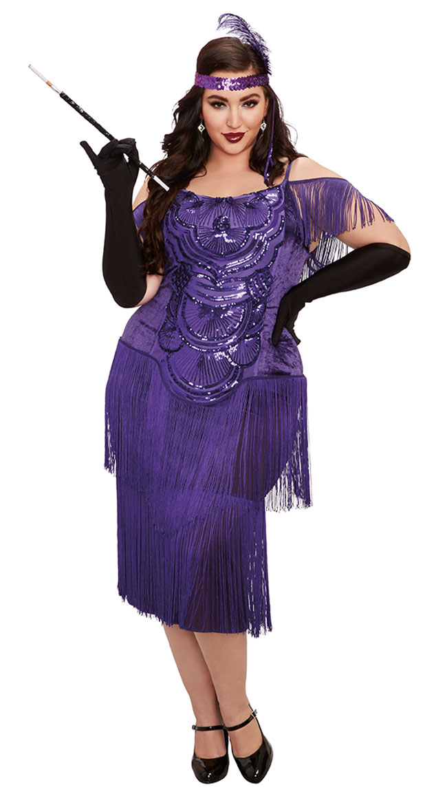 Plus Size Miss Ritz Costume by Dreamgirl