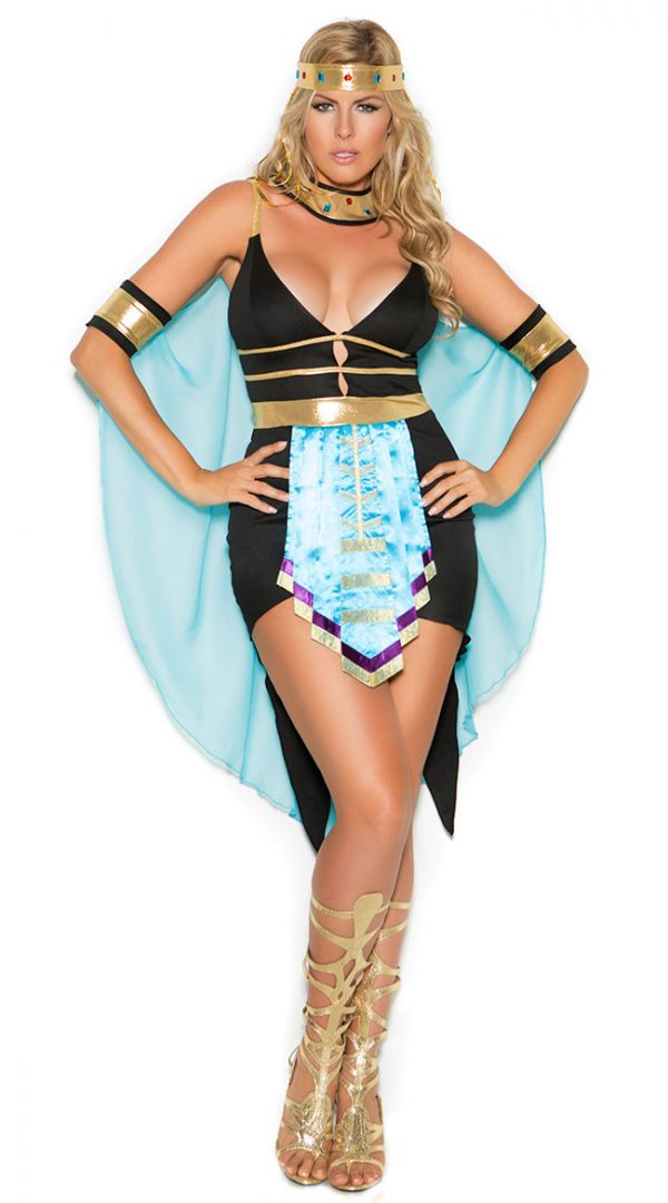 Plus Size Sexy Queen Of The Nile Costume by Elegant Moments