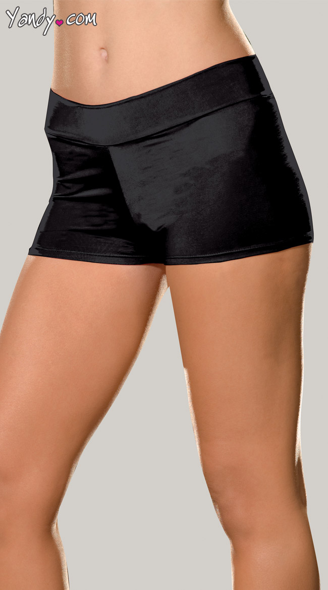 Plus Size Spandex Shorts by Dreamgirl