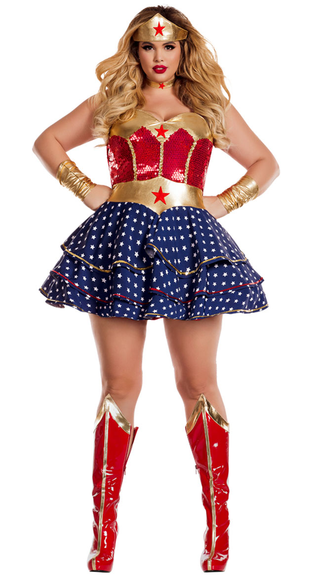 Plus Size Wonderful Sweetheart Costume by Party King