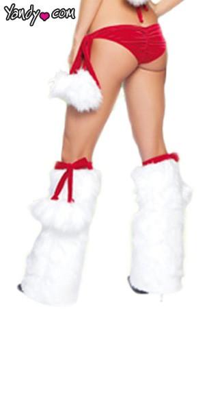 Pom Pom Leg Warmers by J Valentine