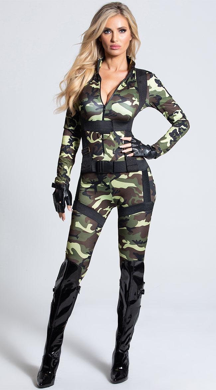 Pretty Paratrooper Costume by Leg Avenue