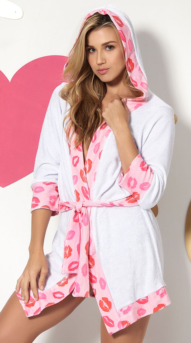 Pucker Up Sweetie Robe by Mapale