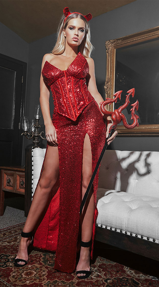 Red Hot Devil Costume by Roma