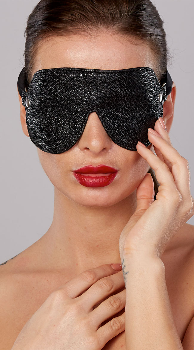 Ribbon Tie Face Mask by Allure Lingerie