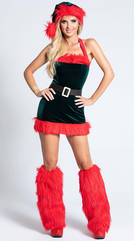 Santa's Envy Christmas Dress by Roma