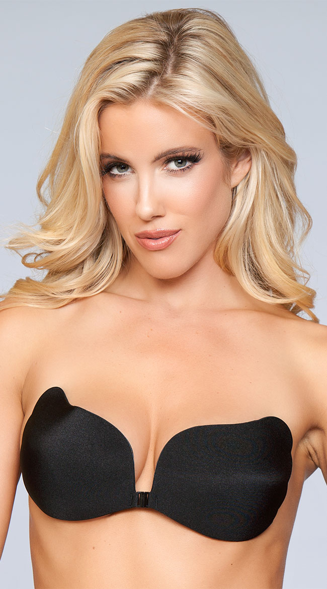 Scalloped Side Adhesive Bra by Be Wicked
