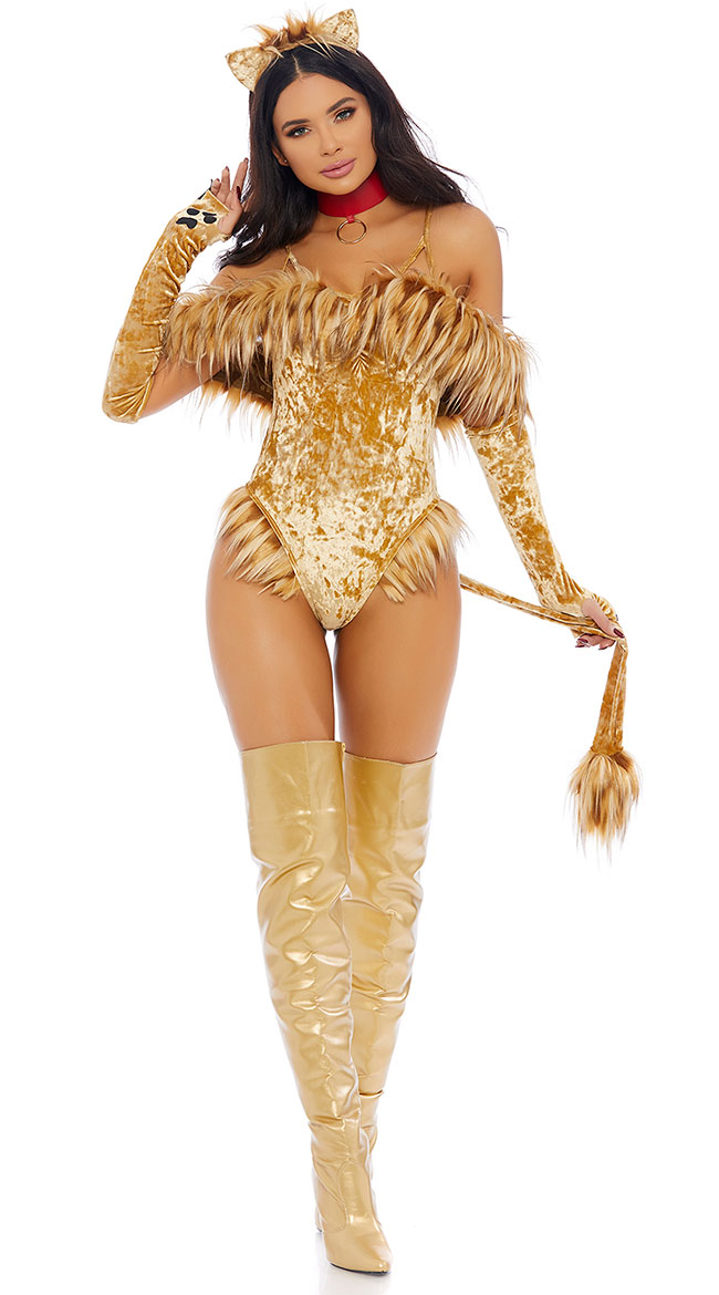 Scaredy Lion Costume by Forplay