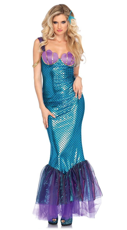 Seashell Mermaid Costume by Leg Avenue