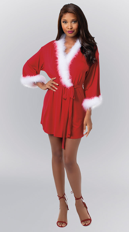 Sexy Santa Robe by Dreamgirl