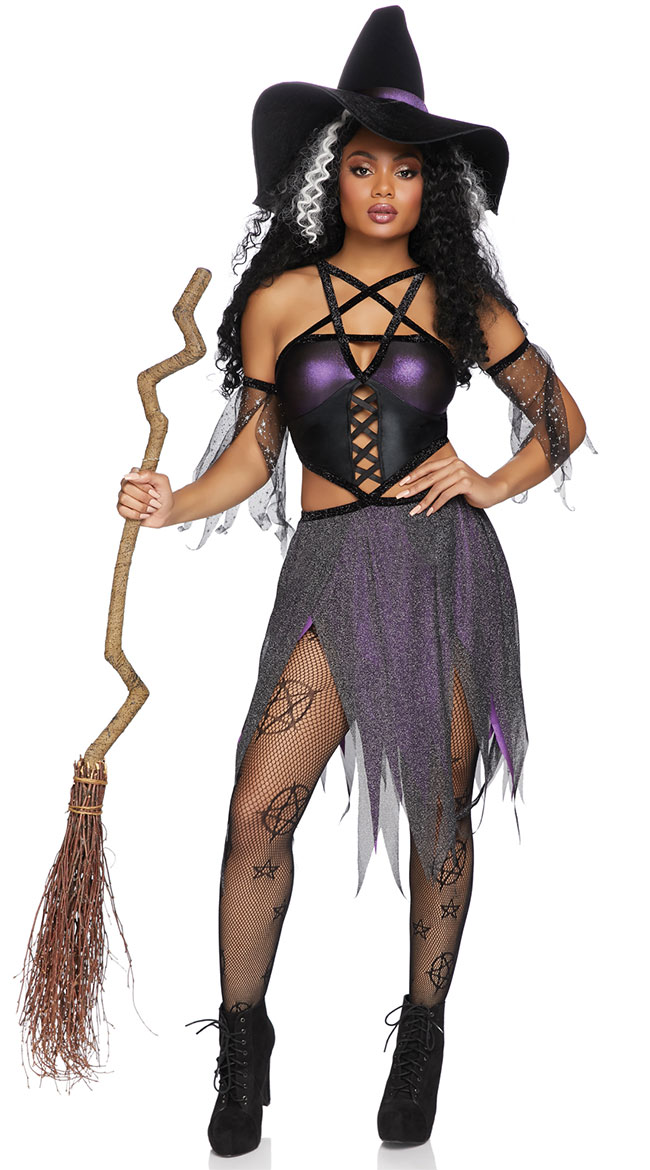 Sexy Spellcaster Costume by Leg Avenue