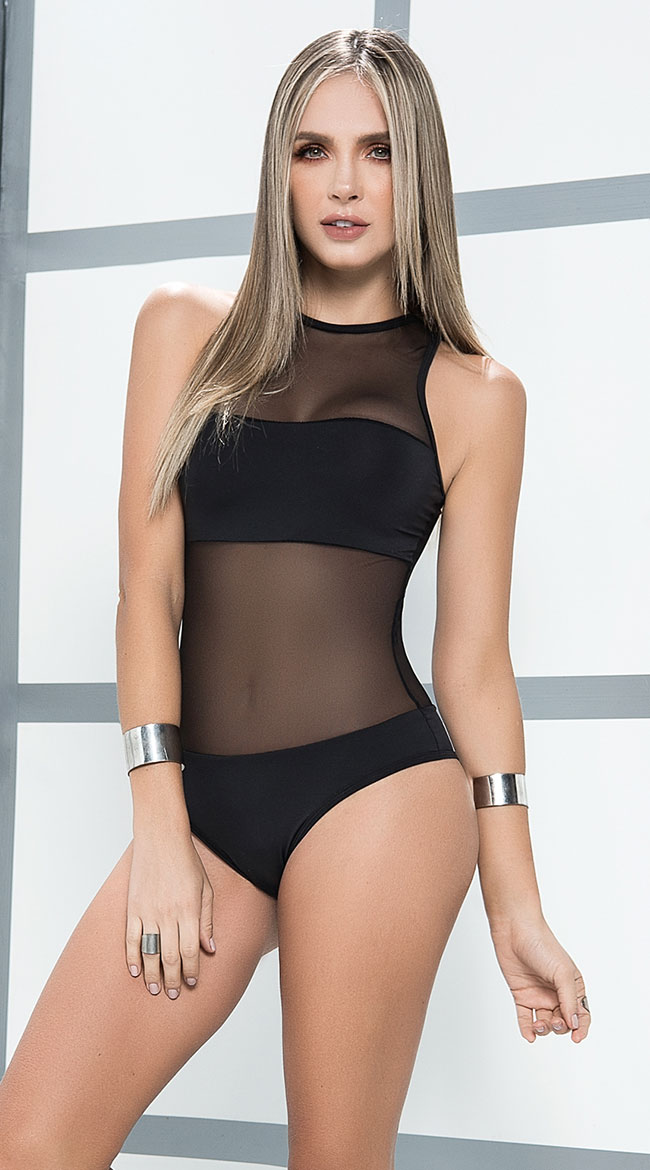 Sheer Illusion Bodysuit by Mapale