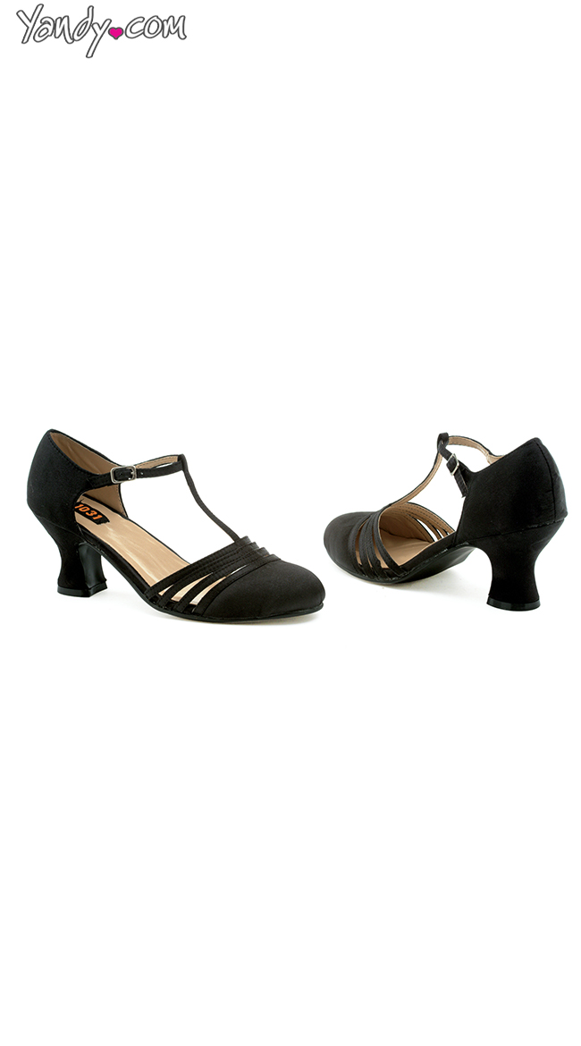 Shimmy and Shake Satin Evening Pump by Ellie Shoes
