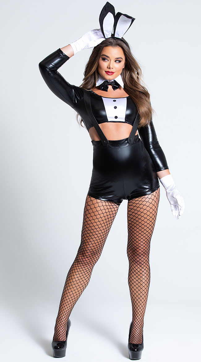 Sinful Bunny costume by Music Legs