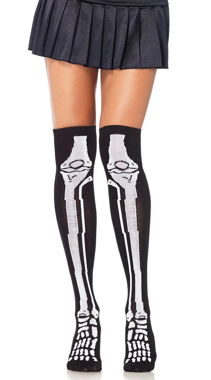 Skeleton Stockings by Leg Avenue