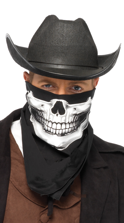 Skull Bandana by Leg Avenue