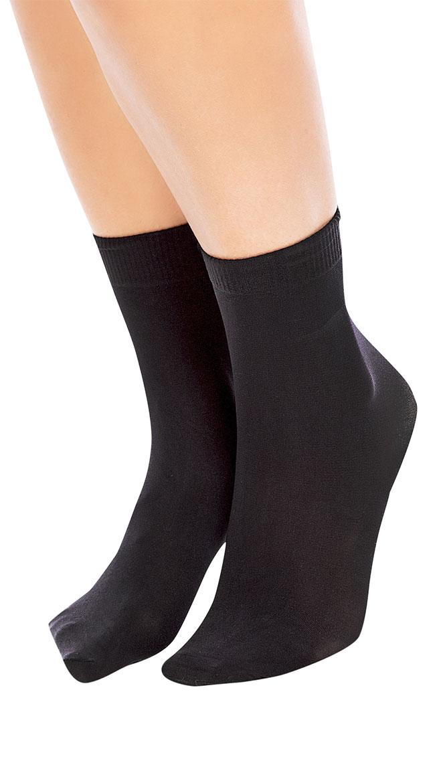 Soft Micro 40 Ankle Socks by Glamory Hosiery