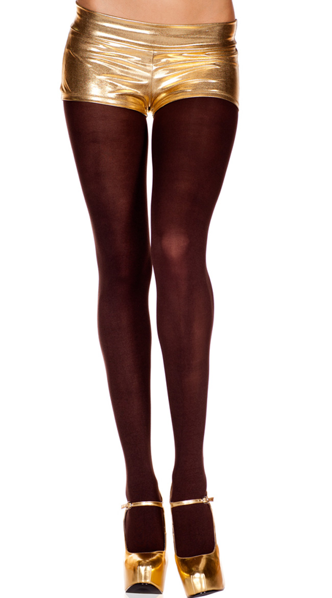 Solid Micro Fiber Tight by Music Legs