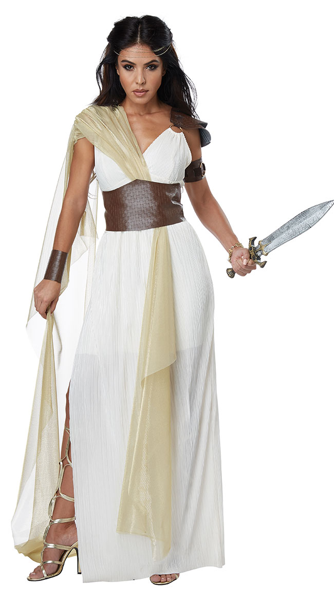 Spartan Warrior Queen Costume by California Costumes