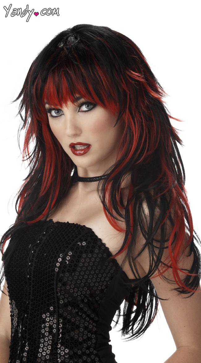 Tempting Tresses Wig goth by California Costumes