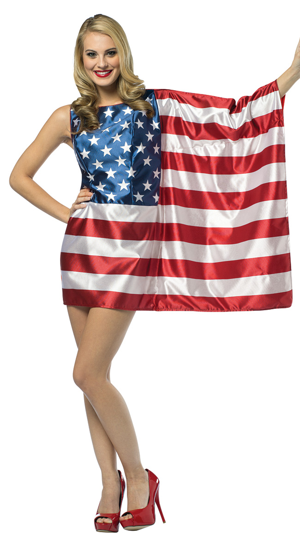 USA Flag Dress Costume by Rasta Imposta