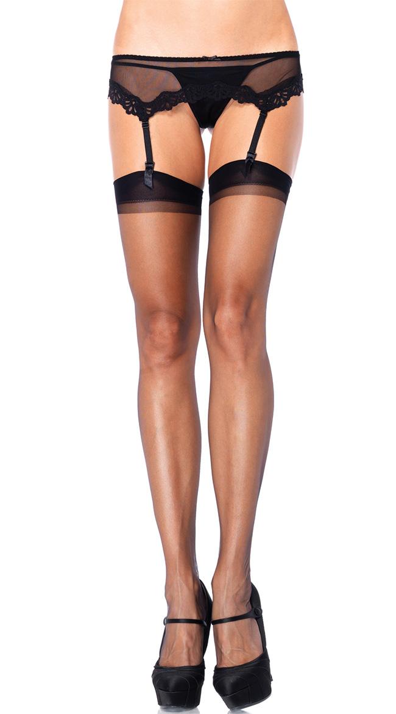 Ultra Sheer Thigh High Stockings by Leg Avenue
