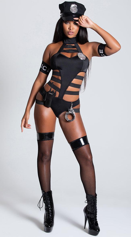 Undercover Cop Costume by Leg Avenue