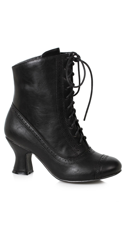 Victorian Heel Bootie by Ellie Shoes