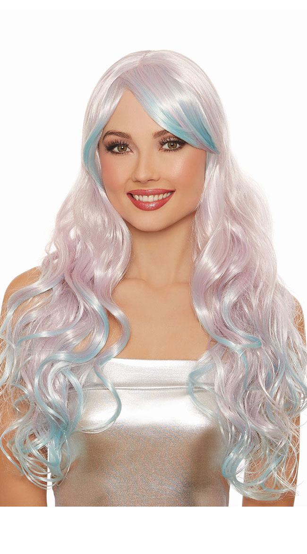 Wavy Lilac Wig by Dreamgirl