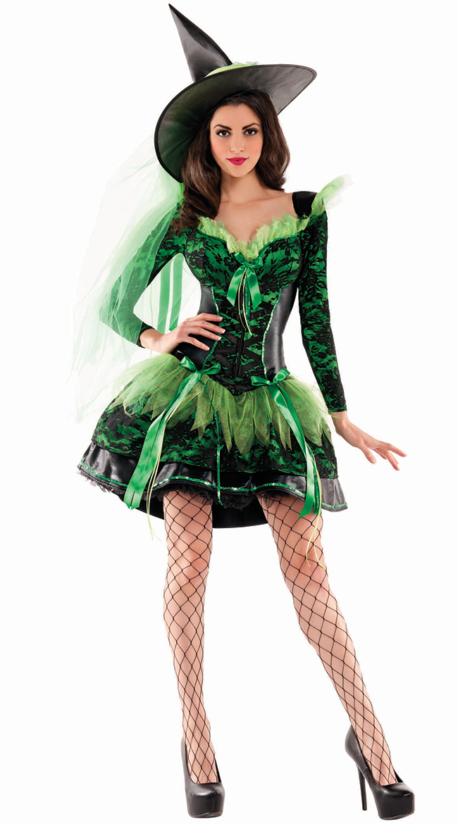 Wicked Emerald Witch Shaper by Party King