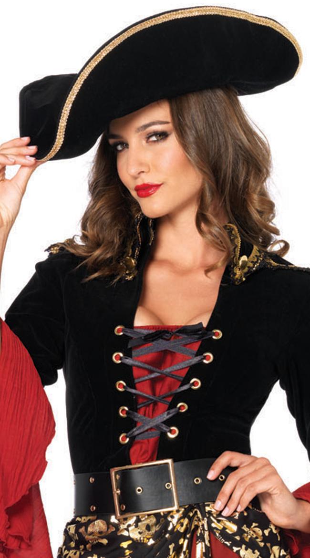 Women's Pirate Hat by Leg Avenue