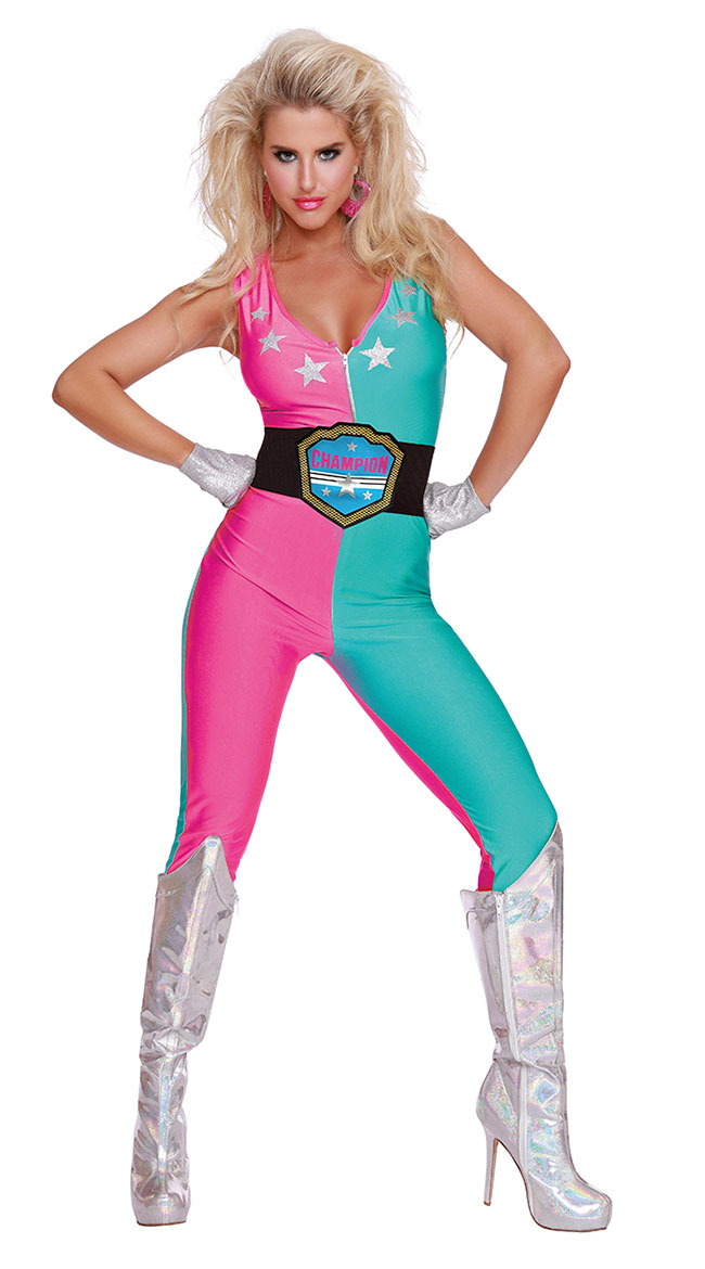 Wrestling Champ Costume by Dreamgirl
